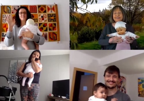 Clases online ZOOM para padres con bebes desde 2 meses