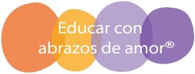Logo Educar con Abrazos de Amor, el desarrollo de tu bebé de 0 a 2 años